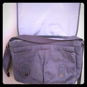 Coach laptop bag blue